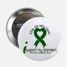 "With All My Heart Cerebral Palsy 2.25"" Button"