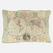 Bowles Antique Map Pillow Case