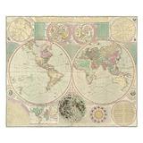 King antique map duvet King Duvet Covers