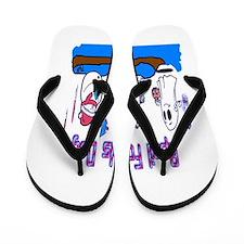 April Fools MIX UP Flip Flops