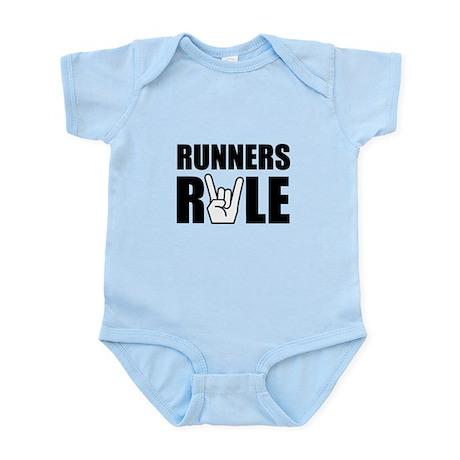 Runners Rule Infant Bodysuit