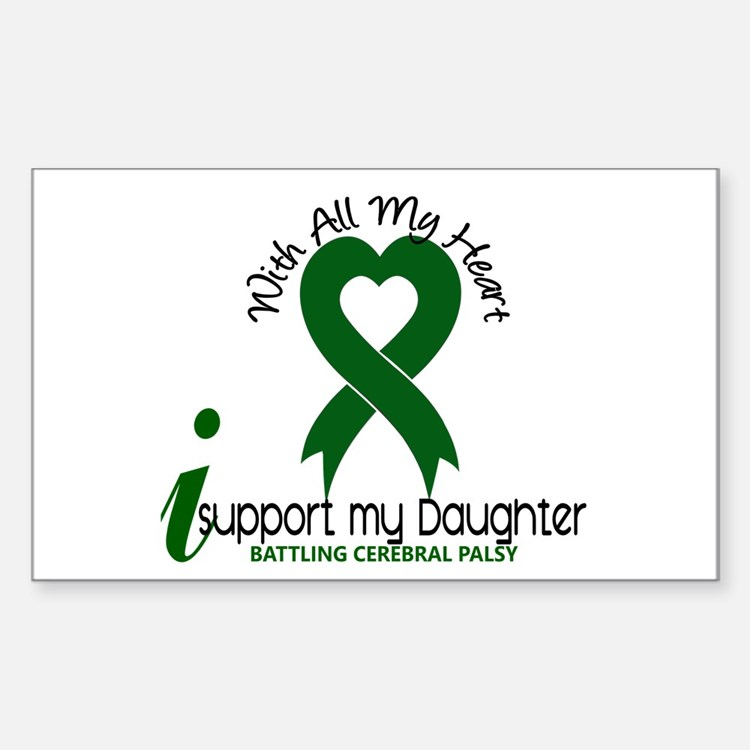 With All My Heart Cerebral Palsy Decal