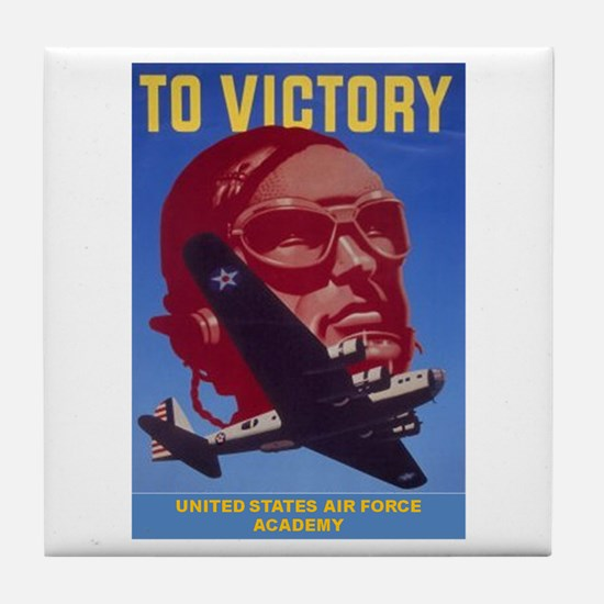 To Victory USAF Tile Coaster