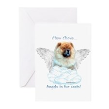 Chow 3 Greeting Cards (Pk of 10)