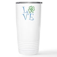 Love Shamrock Travel Mug