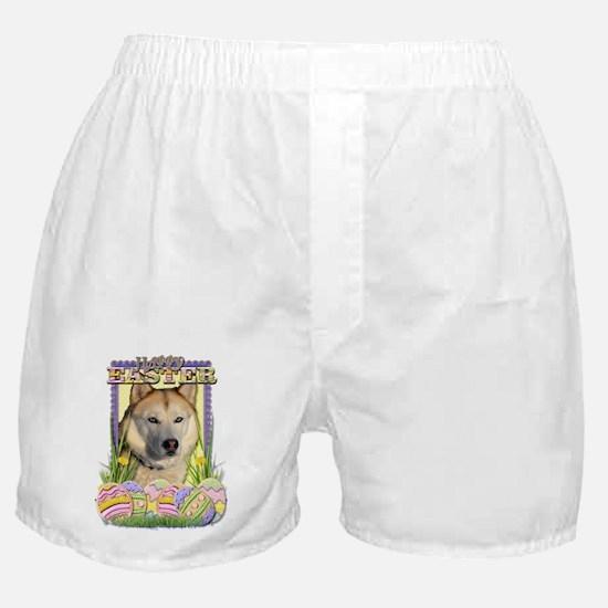 Easter Egg Cookies - Husky Boxer Shorts