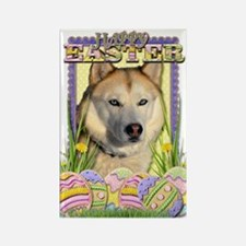 Easter Egg Cookies - Husky Rectangle Magnet