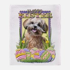 Easter Egg Cookies - ShihPoo Throw Blanket