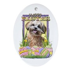 Easter Egg Cookies - ShihPoo Ornament (Oval)