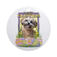 Easter Egg Cookies - ShihPoo Ornament (Round)