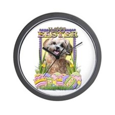 Easter Egg Cookies - ShihPoo Wall Clock