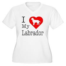 I Love My Labrador Retriever T-Shirt