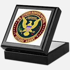 Border Patrol, Cit MX - Keepsake Box