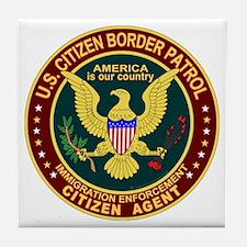 Border Patrol, Cit MX - Tile Coaster