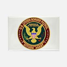 Border Patrol, Cit MX - Rectangle Magnet