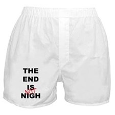 The End Is Not Nigh 2012 Boxer Shorts