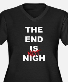 The End Is Not Nigh 2012 Women's Plus Size V-Neck
