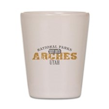 Arches National Park Utah Shot Glass