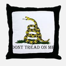 Don't Tread On Me Throw Pillow