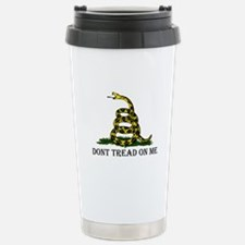 Don't Tread On Me Stainless Steel Travel Mug