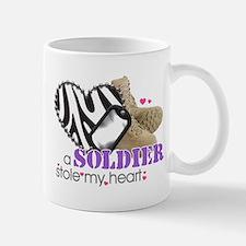 Zebra1 Mugs