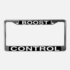 BOOST CONTROL License Plate Frame