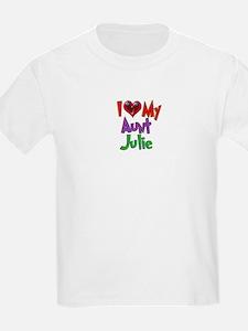 Cute Aunt julie T-Shirt