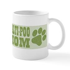 Maltipoo Mom Green Small Mugs