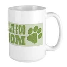 Maltipoo Mom Green Mug