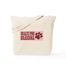 Maltipoo Grandma Tote Bag