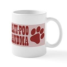Maltipoo Grandma Small Mugs