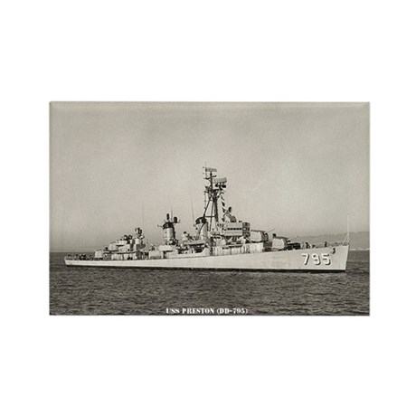 USS PRESTON Rectangle Magnet