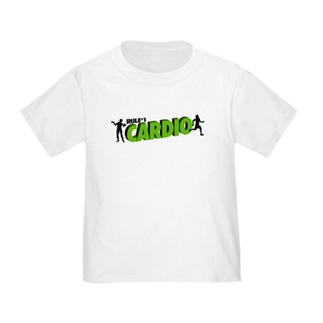 Zombie Rule #1 CARDIO! Toddler T-Shirt