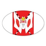 Kempeitai Sticker (Oval 10 pk)