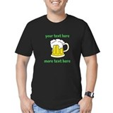 Alcohol Fitted T-shirts (Dark)