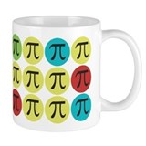 Colorful pi Small Mugs (11 oz)