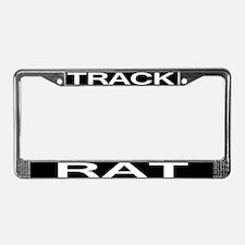 TRACK RAT License Plate Frame