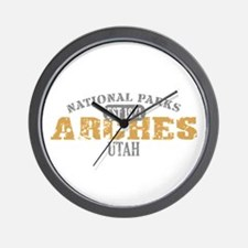 Arches National Park Utah Wall Clock