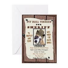 Unique Pit bull terrier items Greeting Cards (Pk of 10)