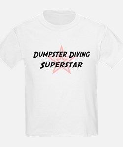 Dumpster Diving Superstar Kids T-Shirt