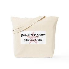 Dumpster Diving Superstar Tote Bag