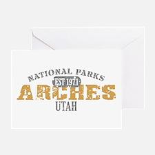 Arches National Park Utah Greeting Card
