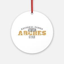 Arches National Park Utah Ornament (Round)