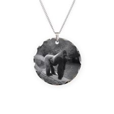 Silverback Gorilla Necklace