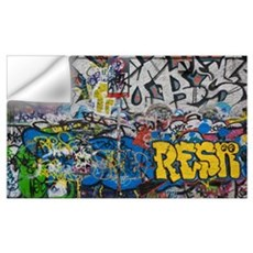 Grafitti on the U2 Wall, Windmill Lane, Dublin, Ir Wall Decal
