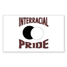 Interracial/Biracial Pride Rectangle Decal