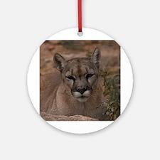Mountain Lion 1 Ornament (Round)