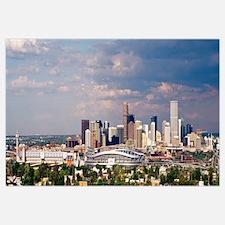 Skyline with Invesco Stadium, Denver, Colorado
