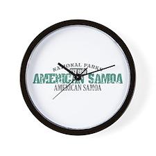 American Samoa National Park Wall Clock