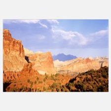 Rock formations on a landscape, Capitol Reef Natio